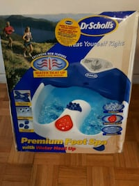 FOOT SPA IN box/ NEW