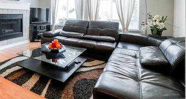 Sectional Sofa Genuine Leather