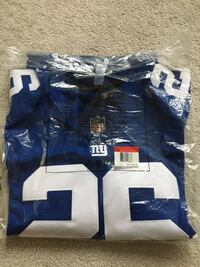 New York Giants Football Jersey Langley, V3A