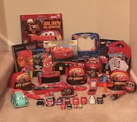 HUGE Lot of Lightning McQueen / Disney Cars Items Vienna, 22180
