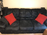 """Great, comfortable couch with deep cushions. Dimensions are 89"""" wide 39"""" deep 35"""" tall Austin, 78756"""