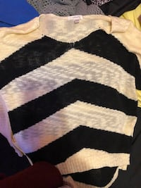 Black, white sweater  Archdale, 27263