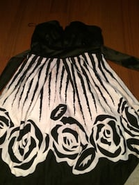 Summer black and white dress Calgary, T1Y 2W8
