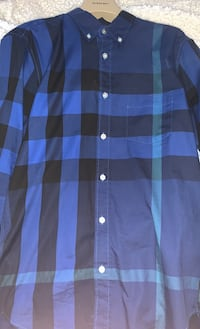Burberry shirt blue Clarksburg, 20871