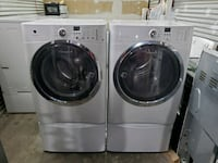 Electrolux front load washer and dryer set