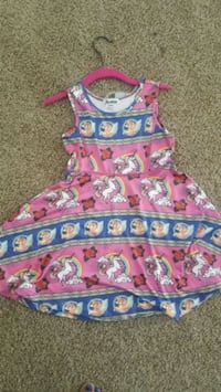Blue, Pink, Roses, and Unicorn Dress! Bremerton, 98311