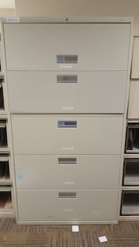 5 drawers Lateral file cabinet  Lorton, 22079
