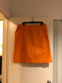 Orange Leather Summer Skirt  Randallstown, 21133