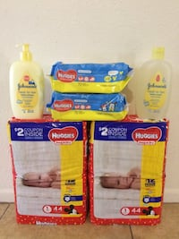 Huggies/johnsons $20 For All (6) items Firm  Phoenix, 85023