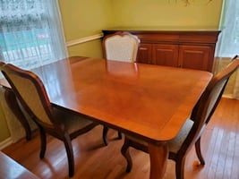 Dining Room Set Table and Buffet