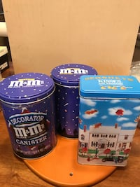 Collectors Candy Tins set of 3 Gainesville, 20155