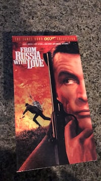 VHS Tape From Russia with Love 007 Azusa, 91702