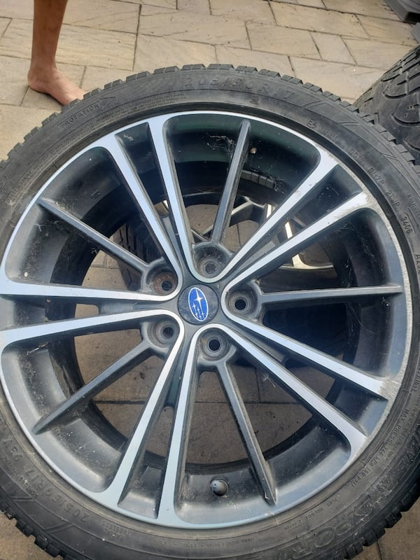 2013 OEM Subaru BRZ wheels  3