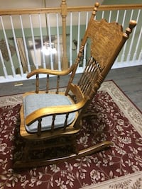 Real wooden rocking chair Cary, 27511