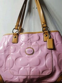 Pink coach handbag Hartford