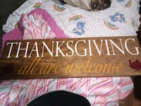 Thanksgiving sign Gloucester County, 23072