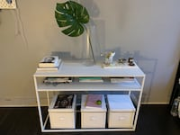 White Target Console Table Los Angeles, 90017