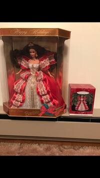Barbie doll in red dress 583 mi