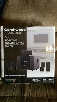 black and gray home theater system box Colorado Springs, 80925