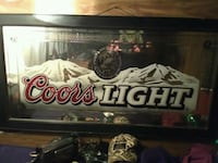 Coors light mirror Bangor, 04401