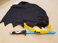 Batman Ninja Sword EXP Shadow Tek Light & Sound, Belt and Cape Springfield
