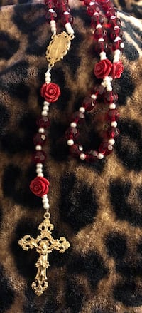Gorgeous Red Rose Rosary! Bakersfield, 93308