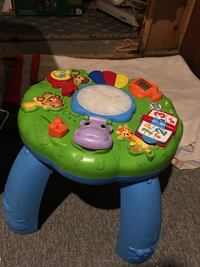 green and blue Fisher-Price learning table Cambridge, N1R 5C9