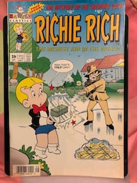 Harvey Classics Richie Rich Vol 2, #26, Sept '94 564 km