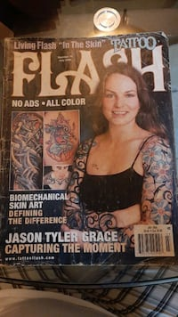 Tattoo Flash Magazine july 2005