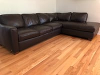 Leather Sectional Sofa Richmond Hill, L4E 3V6