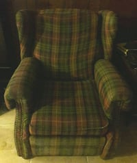 TWO recliner chairs.
