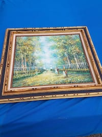 Authentic Frank Allison signed Painting