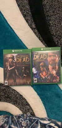Walking dead 2 and 3 for xbox one Minot, 58703