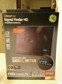 NEW Ultra Pro Signal Finder HD Amplified Antenna 1894 mi