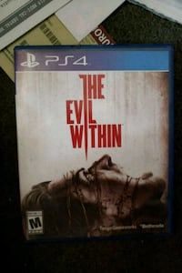 The Evil Within PS4 game Moreno Valley, 92551