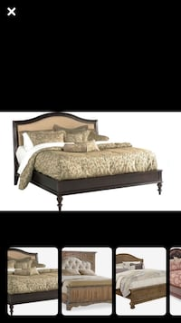 Beautiful King size bedroom suit with dresser and Mirror Birmingham, 35243