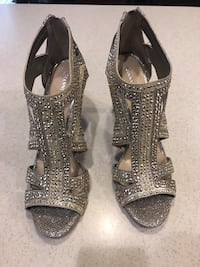 Gold caged heels size 9.5 Alexandria, 22315