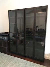 Billy Bookshelves with Glass Doors x2 Culver City, 90232