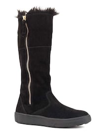 COUGAR WOMAN'S IGGY BOOT BLACK SILKY SUEDE - BOTTES - SIZE 7 Laval, H7P 1Z7