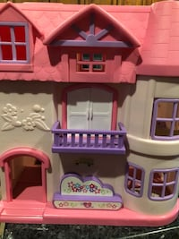 Pink dollhouse Tracy, 95376