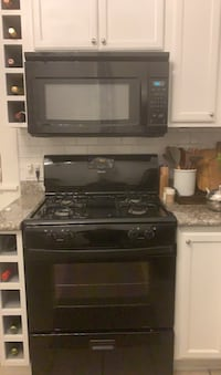 Stove and microwave