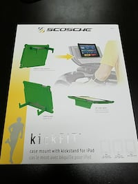 Scosche kickFIT Case Mount for iPad 2nd, 3rd & 4th Draper, 84020
