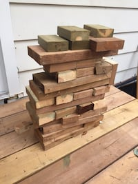 End pressure treated wood pieces Barrie, L4M