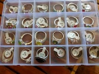 Rings. Most 925 sterling. buy one or entire lot. Los Angeles, 90003