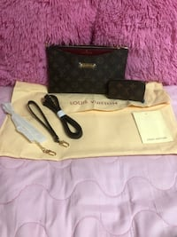 Sling bag with mini coin purse