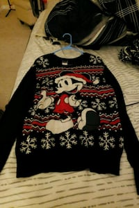 Mickey Christmas sweater Hagerstown