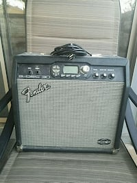 Black fender amp with cord 16in by 16in Las Vegas, 89122