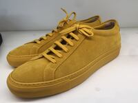 Men's Common Projects Low Yellow Los Angeles, 90012