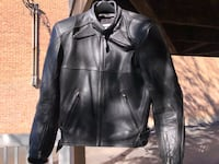 Leather Teknic Motorcycle Jacket with Hard Armor Chicago, 60641