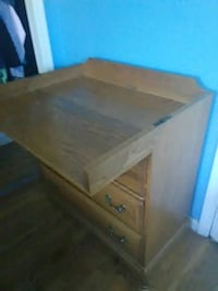 Foldable desk with drawers Virginia Beach, 23452